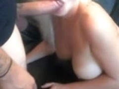 Busty blond loves my rod up her ass