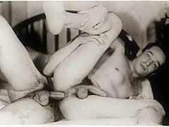 Vintage British homo porno