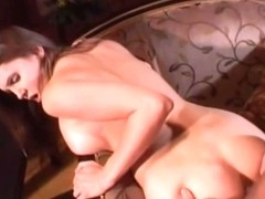 Busty Young Babe Erotic Couch Fun