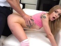 Pretty Stepdaughter Gets Good Dick