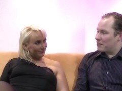 Big ass, German woman is in the mood for anal sex and a very intense orgasm
