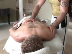Dude with perfect body gets gay rubbing part6
