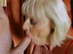 Big Breasted Mature Loves Stiff Dicks
