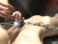 Tamil black gay and sex video Roxy Red wakes up strapped to a table and
