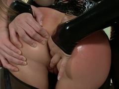 Exotic fetish, anal sex clip with fabulous pornstars Ariel X and Bobbi Starr from Everythingbutt
