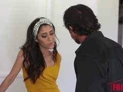 Angel Del Rey's Plan To Fuck Her Step Dad