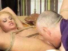 Cute Submissive Anally Fucked By Maledom