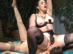 Submissive Big Tits in Brutal Bondage and Suffering - WhippedAss