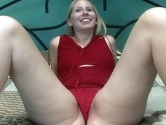 Blondie Gets Naked for the First Time then Masturbates - SpringbreakLife