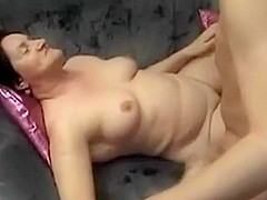 granny is drilled missionary and acquires her face sprayed with hawt spunk