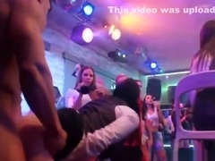 Wicked cuties get fully insane and naked at hardcore party