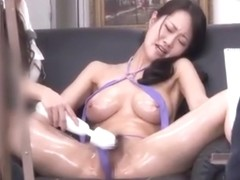 Sexy big tits milf fucked by a male nude model in front of of painters