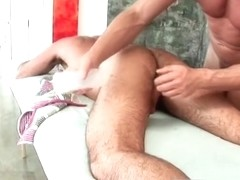 Dodge Wolf gets his first gay massage part4
