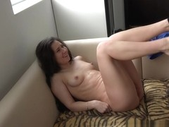 Amateur couple fucked first time on camera