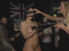 Group sex porn video featuring Mona Wales and Marta La Croft