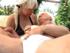 Horny Granny Gettin It On With Hot Teenie - MatureNL