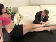 Curvy Female Boss Addie Juniper Exploits Her Employee