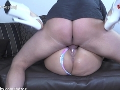 MyDirtyHobby - Amateur with huge fake tits fucks better than a pornstar