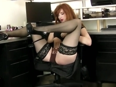 Best Step-Mama Amber Dawn Riding Cock Sweet Touching Son's Friend