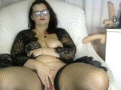 Bbw Pussy Close Up Masturbation