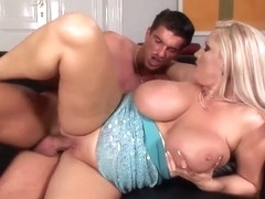 Busty Blonde Gets Rammed In Hardcore Fashion