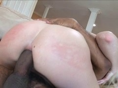 Aaliyah Jolie Takes A BBC Up Her Fascinating Arse