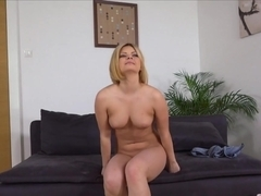 Best pornstars Angel Black, Alexa Cruz in Crazy Casting, Blonde sex clip