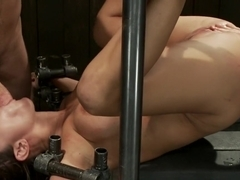 Trina gets cock stuffed and fisted