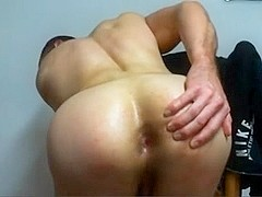 Gay Muscle Boy Oil On Bubble Ass,Playing With Asshole On Cam