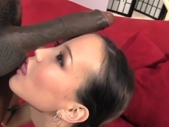 Little Asian Amai Liu Handles Biggest Black Cock Ever