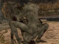 lesbijskie zombie porno