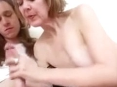 Horny Milf Jamie Foster Is Super Excited To Welcome Her