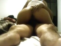 Crazy amateur ass cumshot, hair pulling, webcam adult video