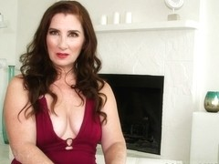 Maria Tells Us About Herself And Fucks Herself - Maria Fawndeli - 60PlusMilfs