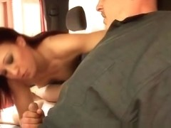 Kaylin Fox and Josh having Blowjob part4