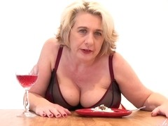 Camilla is a dirty minded, blonde granny with big tits who likes to masturbate every day