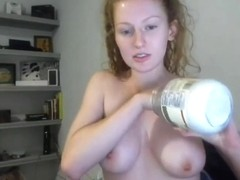 junior redhead college girl topless