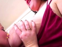 Constance Suck Two Huge Natural Tits Part.2