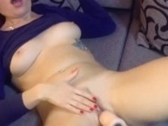 Compilation of orgasms from a fuck machine #2