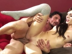 Alyssa Cole gets fucked by her friends father