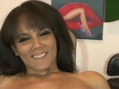 Crazy pornstar Anjanette Astoria in horny blowjob, big tits porn movie