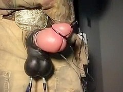 semen extraction from bloated moose penis, verbal freaky hor