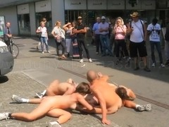 Nude in the Street.--CharlottC