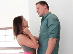 Sara Luvv & Alec Knight in Devious Daddies And Daughters Scene