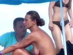 French puffy holiday topless incredible Ibiza