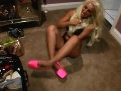 Brooklyn Blue in Dumb Brit Blonde Loved Your Dick - Filf