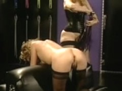 She's caught masturbating by Mistress