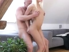 Olivia Strokes Strangers Cock Before Sucking