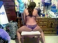 Ebony Teen twerking